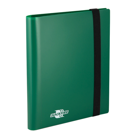 Альбом Blackfire c 20 встроенными листами 2х2 - Flexible Green