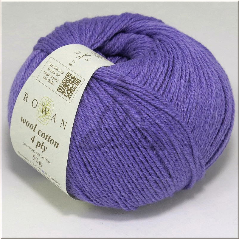Пряжа Wool Cotton 4 Ply Rowan Rowan 2013 стоимость