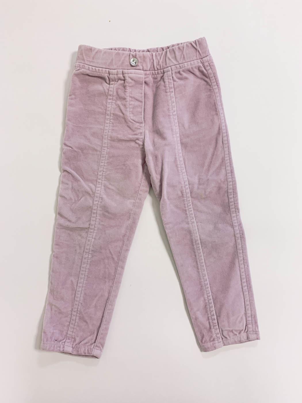 Бархатные брюки Monnalisa