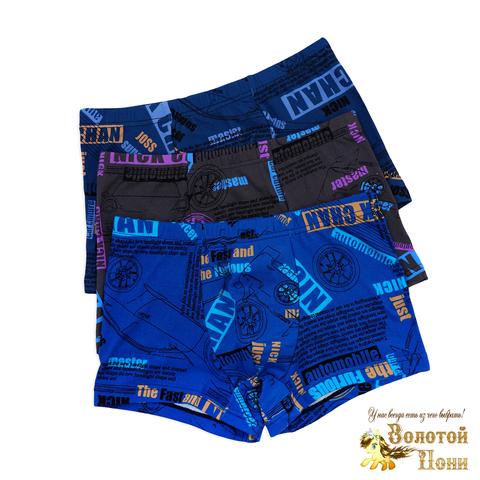 Трусы подростковые хлопок/бамбук (8-14) 200212-N7826
