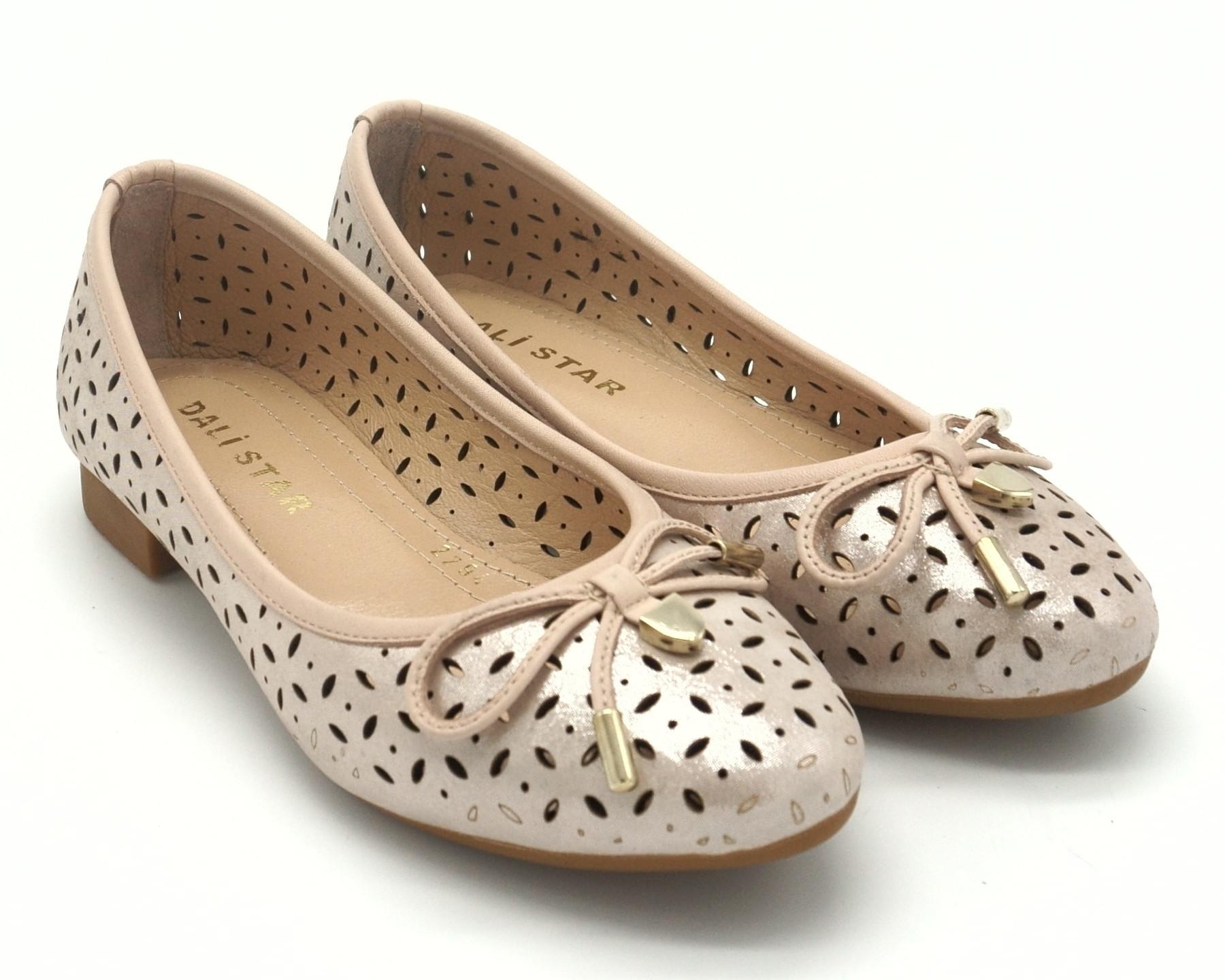 Женские туфли - лодочки из натуральной кожи