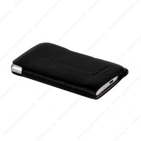 Чехол-пенал кармашек Fashion для Samsung i9100 Galaxy S2 кармашек черный