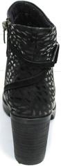 Кожаные ботинки женские Lady West 1343 101 Black