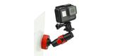 Присоска Joby Suction Cup & Locking Arm с камерой вертикально