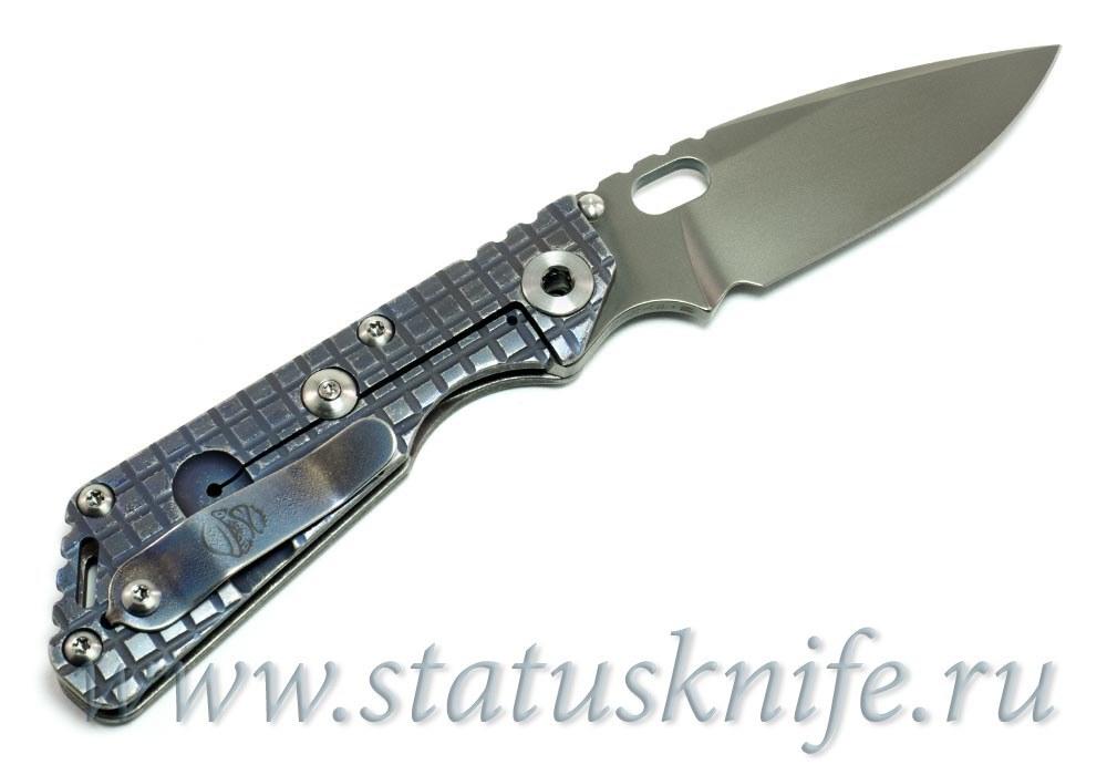 Нож Mick Strider Custom SnG Old Flame - Monkey Edge - фотография