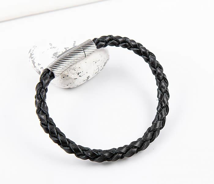 BL786-1 Браслет из кожаного шнура ручного плетения