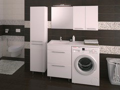 Раковина над стиральной машиной Duet 120x50 2