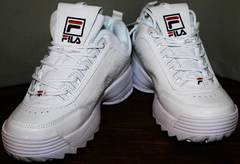 Городские кроссовки Fila Disruptor 2 all white RN-91175