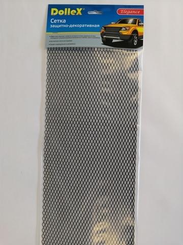 Сетка для тюнинга металлическая черная(100х20см)