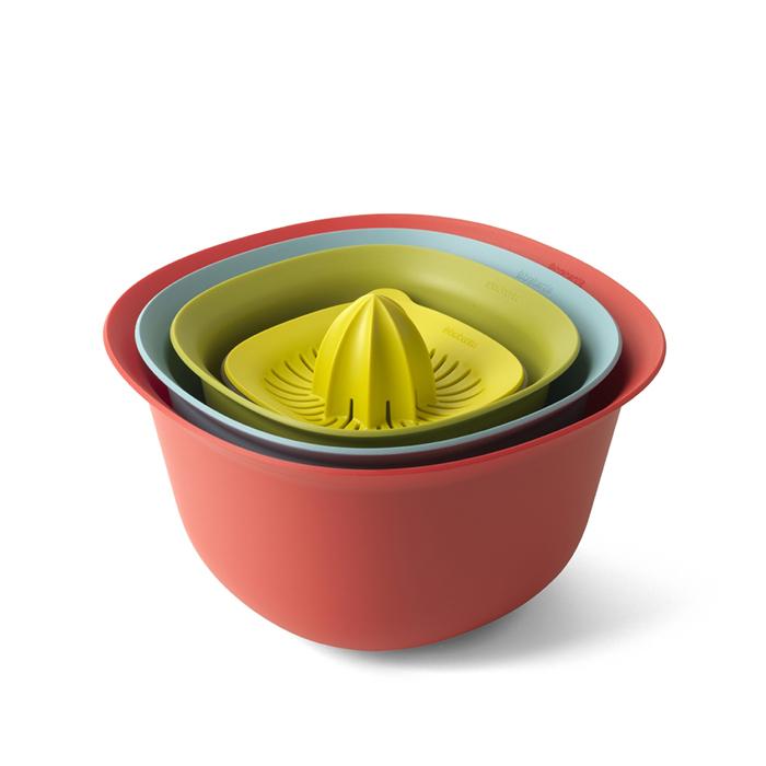 Кухонный набор мисок, мерный стакан/соковыжималка, арт. 110047 - фото 1