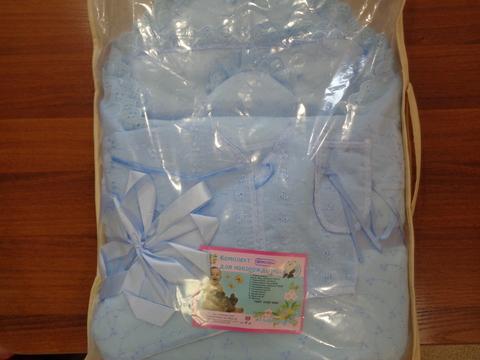 Комплект д/выписки с одеялом №1(весна)(ШИТЬЁ)