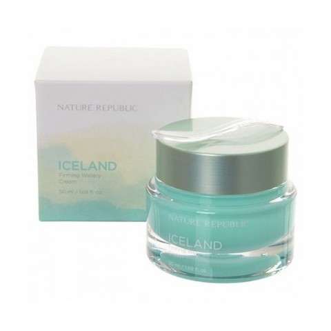 NATURE REPUBLIC Крем для лица Iceland Firming Watery Cream 50мл