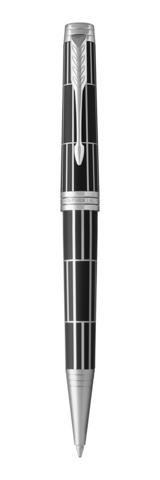 Шариковая ручка Parker Premier Luxury, K565, Black PT, MBlack123