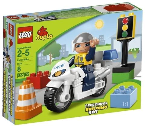 LEGO Duplo: Полицейский мотоцикл 5679 — Police Bike — Лего Дупло