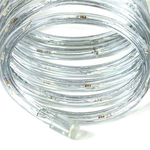 спиральная трубка пвх желтого дюралайт желтый LED
