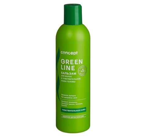 Бальзам для волос и чувствительной кожи головы 300 мл, Concept