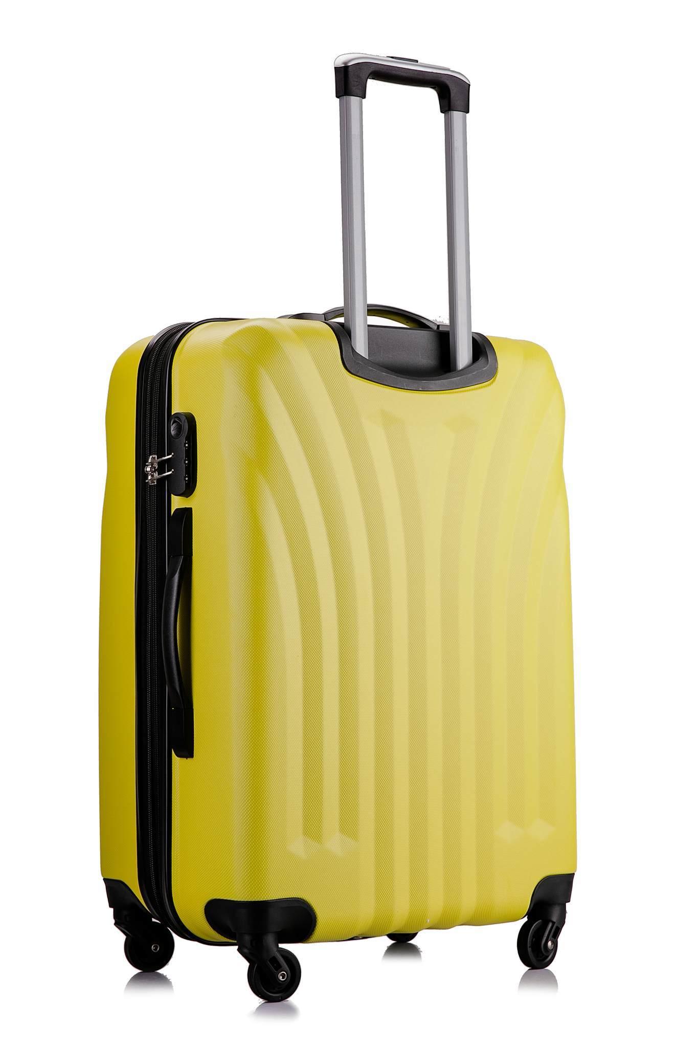 Чемодан с расширением L'case Phuket-28 Желтый (XL)