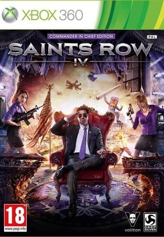 Saints Row 4 - Commander in Chief Edition (Xbox 360, английская версия)
