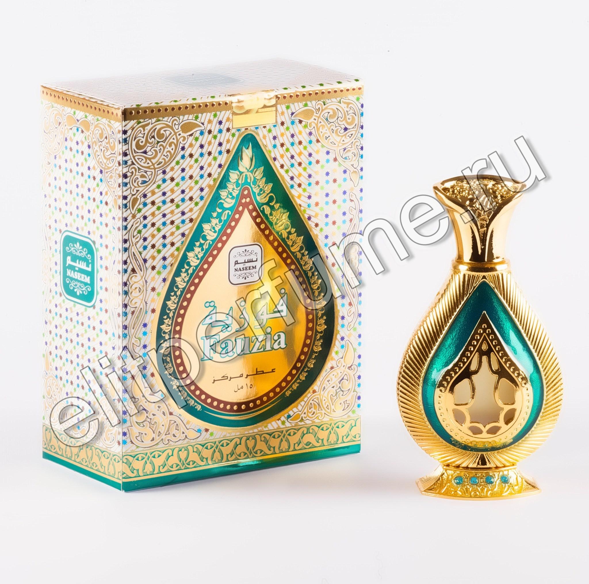 Пробник для Fauzia Фаузиа 1 мл арабские масляные духи от Насим Naseem Perfumes