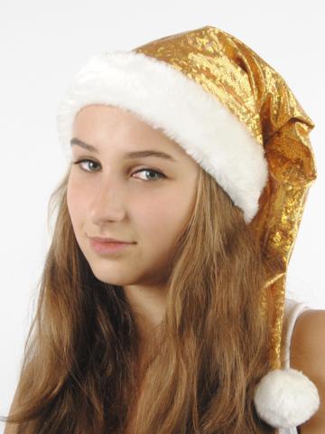 Новогодний Колпак Золотая змея