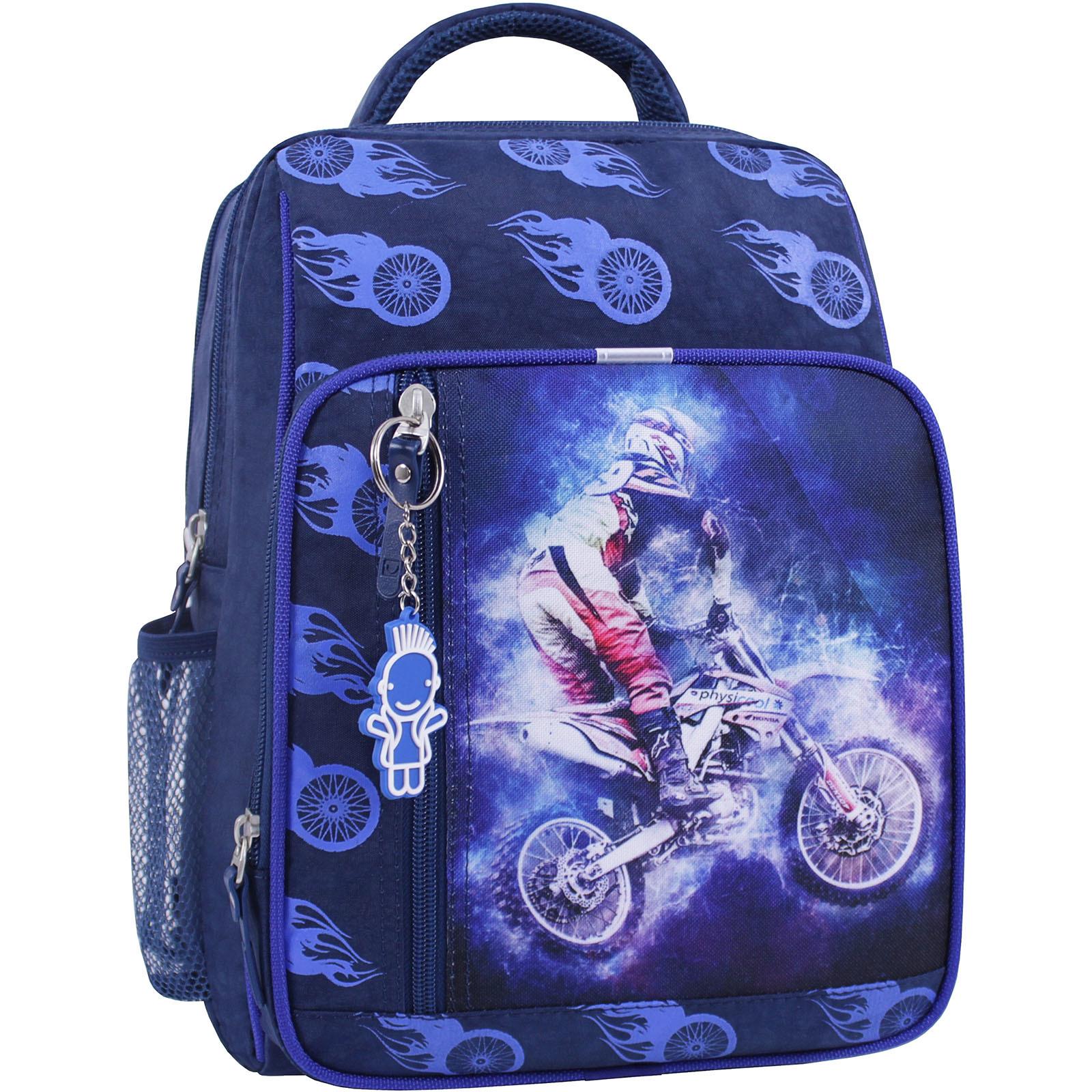 Школьные рюкзаки Рюкзак школьный Bagland Школьник 8 л. синий 507 (0012870) IMG_1028_суб.507_.JPG