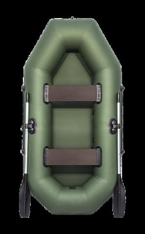 Лодка ПВХ АКВА-ОПТИМА 240 зеленый