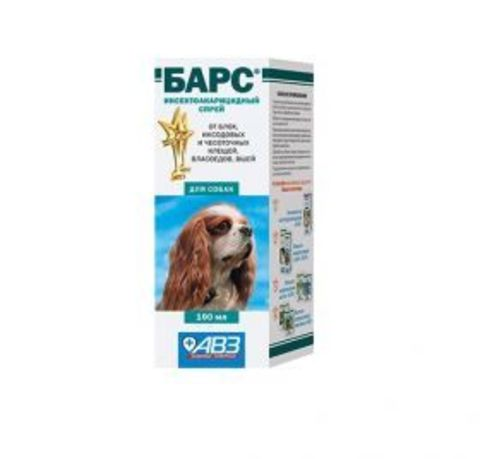 Барс Спрей инсектоакарицидный для собак (100 мл)