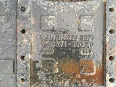 Траверс рамы под V-Образную тягу на МАН самосвал, МАН ТГА/МАН ТГС  Оригинальные номера MAN - 81412303021; 81.41230-0021; 81.412303021