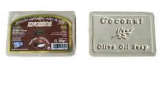 Натуральное оливковое мыло с кокосом Knossos 100 гр