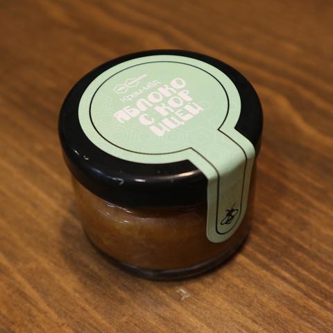 Крем-мед яблоко с корицей