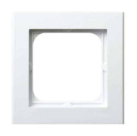 Рамка на 1 пост. Цвет Белый. Ospel. Sonata. R-1R/00