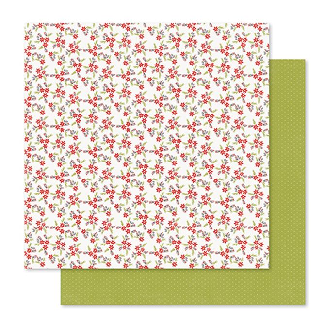 Лист двухсторонней бумаги Wreath