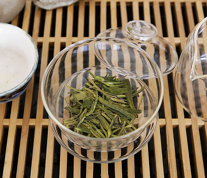 TEA-CH104 Китайский зеленый чай «Колодец Дракона» (Лун Цзин, 10 гр) фото 07