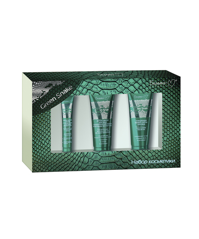 Белита-М Green Snake Подарочный набор (Пилинг-скатка + филлер д/век + детокс-маска д/лица)