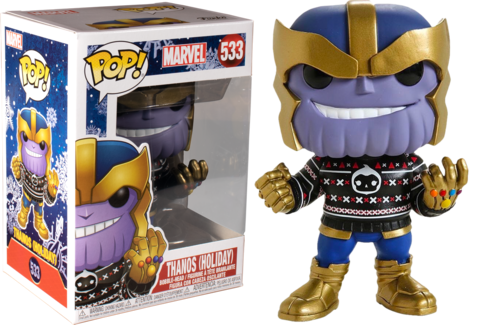 Thanos (Holiday) Funko Pop! Vinyl Figure    Танос