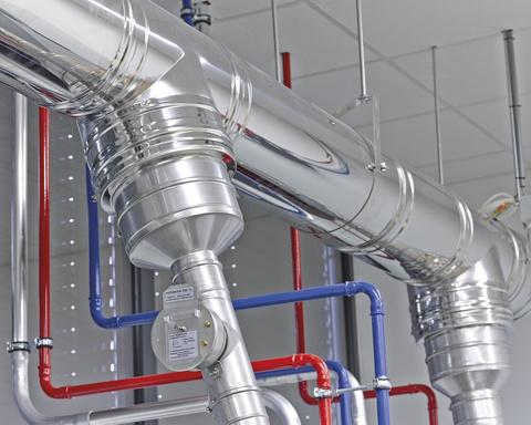 Schiedel ICS5000 - дымоходная система для промышленного теплового оборудования