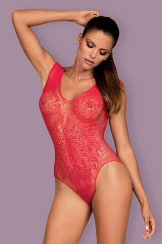 Боди B 112 Teddy Red Obsessive