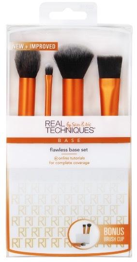 Real Techniques Flawless Base Set набор кистей