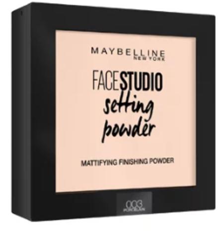 Maybelline FaceStudio Setting powder пудра компактная №003 фарфоровый