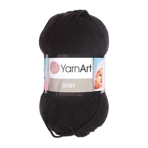 Пряжа YARNART BABY № 585 черный