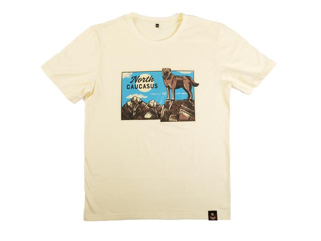 North Caucasus / футболка в поддержку хасавюртинского приюта