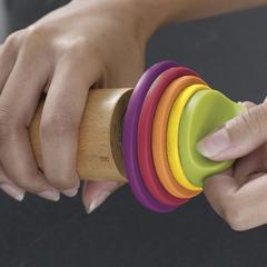 Скалка регулируемая (Joseph Joseph) разноцветная