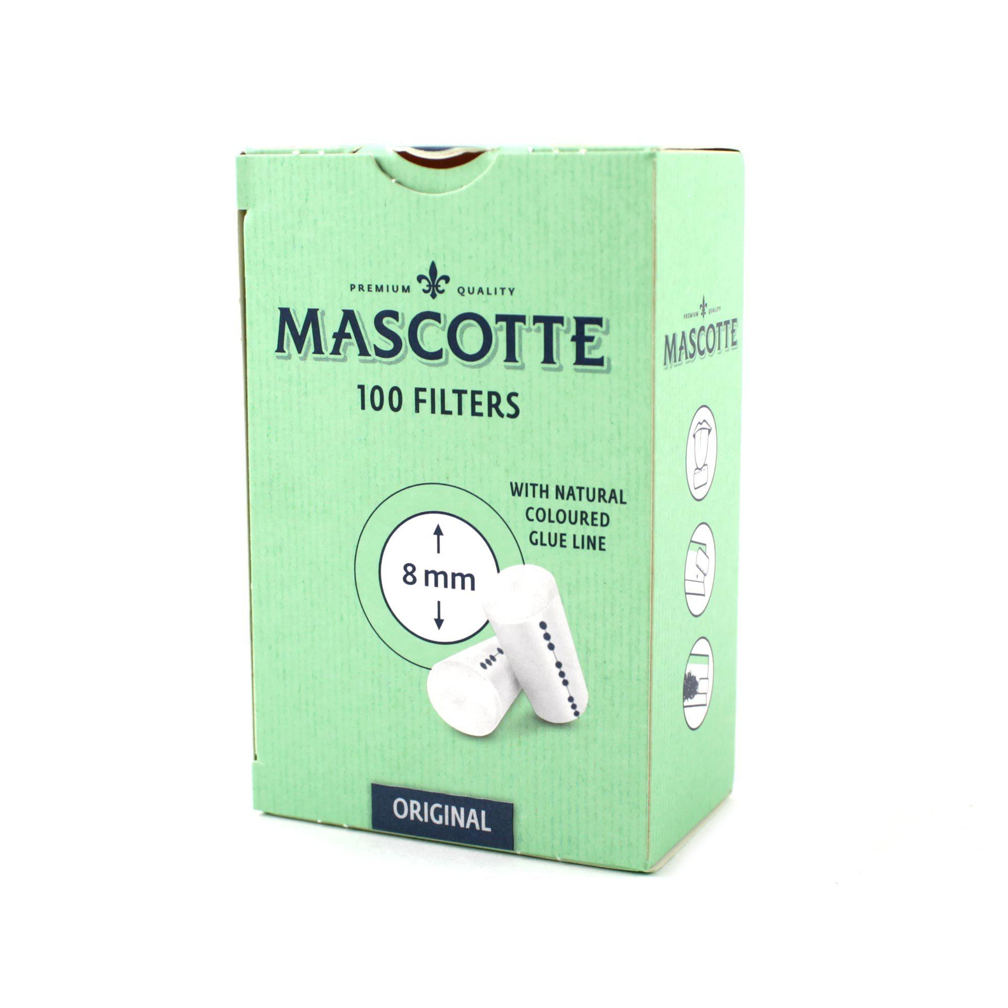 Сигаретные фильтры MASCOTTE Filters 8mm 100 шт