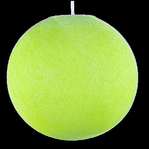 Хлопковый шар - подвес Салатовый