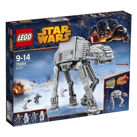 LEGO Star Wars: Вездеходный Бронированный Транспорт AT-AT 75054 — AT-AT — Лего Стар ворз Звездные войны
