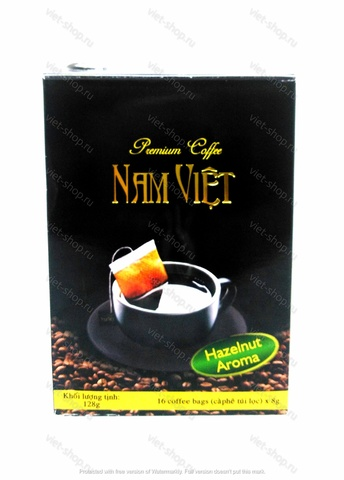 Кофе молотый Phuong Vy Лесной Орех, 16 пак.