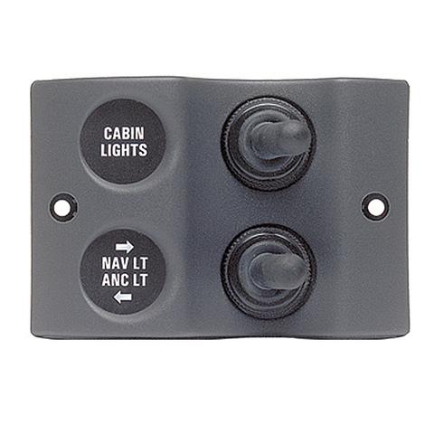 Панель переключателей MICRO 2 шт (1x2 вкл/выкл, 1x3 вкл/выкл/вкл)
