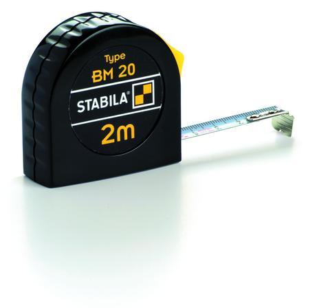 Карманная рулетка Stabila тип BM20 5 метров (арт. 16446)