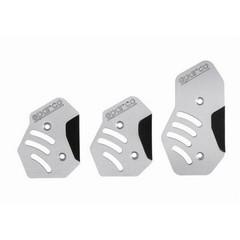 Накладки на педали Neon алюминий для МКПП
