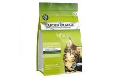 Беззерновой сухой корм для котят, Arden Grange Kitten Fresh Chicken&Potato, со свежей курицей и картофелем